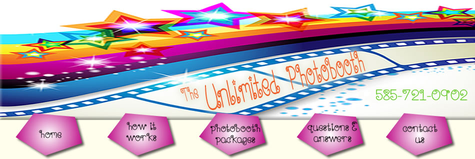 The Unlimited Photobooth 585-721-0902